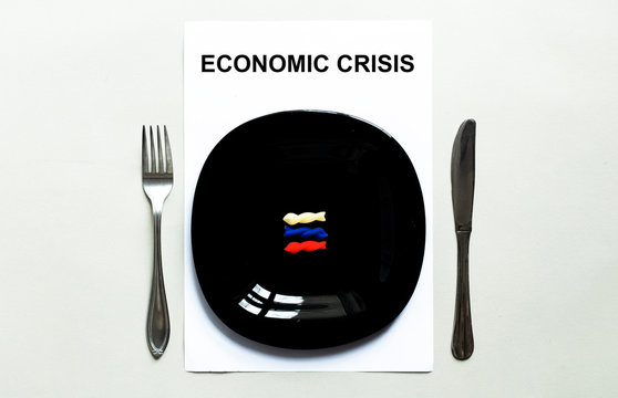 Black plate pasta, countries of the world, economic crisis RUSSIA