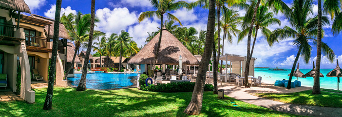Luxury tropical vacation. Constance Belle Mare Plage. Mauritius island. Pointe de flacq , Belle Mare. February 2020