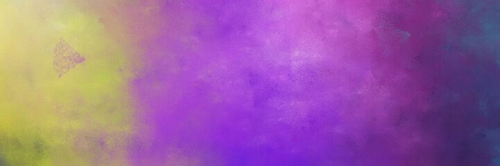 beautiful moderate violet and dark khaki colored vintage abstract painted background with space for text or image. can be used as horizontal background texture Wall mural