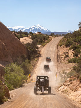 Moab, Utah - Offroading trail