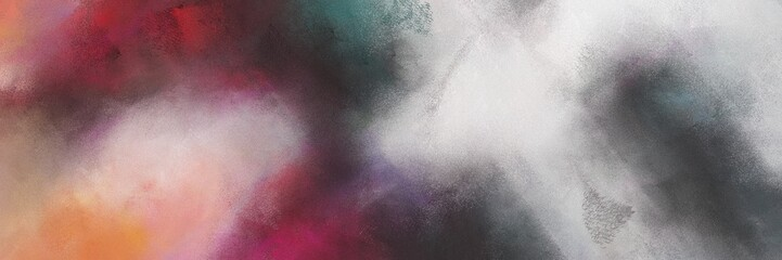 abstract colorful diagonal background with lines and ash gray, silver and old mauve colors. can be used as texture, background or banner Wall mural