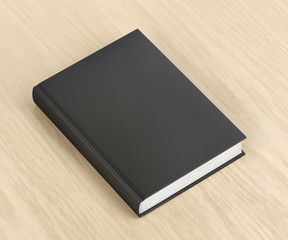 Book with black cover