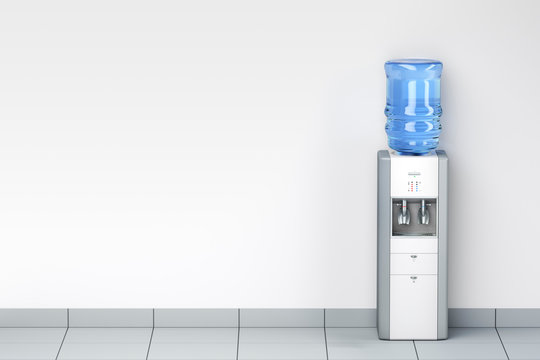 Water dispenser in the room
