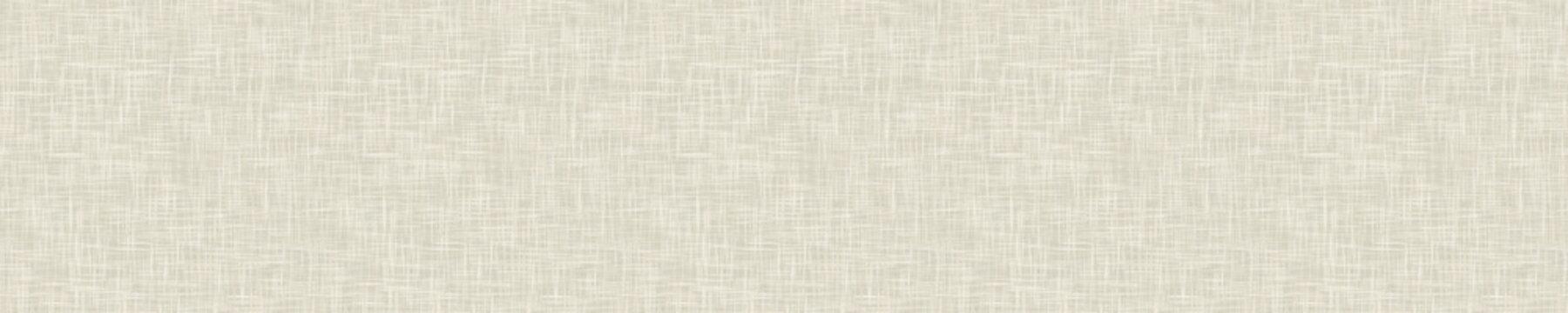 Seamless white grey woven linen texture background. Raw ecru flax hemp fiber natural pattern. Organic fibre close up weave fabric for surface material. Plain natural gray cloth textured rough canvas