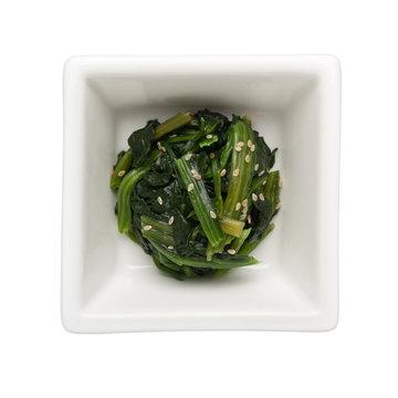 Asian cuisine - Japanese vegetable salad