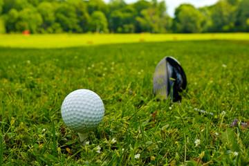 Fototapeta Gra w golfa,  nauka obraz