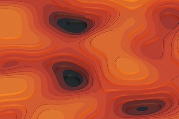abstract background - equipotential surfaces, topographic or height relief