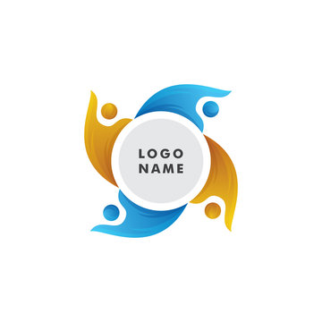 Alumni logo design template vector