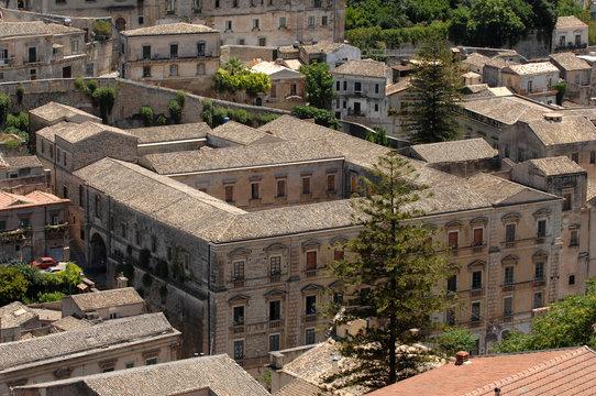 Italy  Sicily  Modica ,  07/06/2007: Overview of Modica
