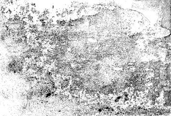 Grungy Horizontal Distress Overlay Texture Background, Vector