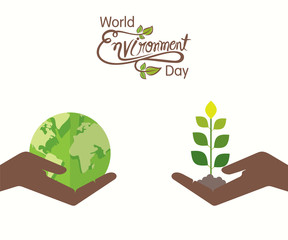 world environment day banner design