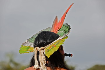 Fototapeta Brazilian indigenous peoples obraz