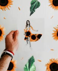 Todo el proceso de cómo hago mis siluetas con técnica paper cut, está en las stories destacados...