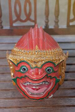 Hua Khon art (Thai Traditional Mask) Used in Khon - Thai traditional dance