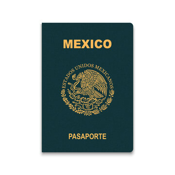 Passport of Mexico. Vector illustration