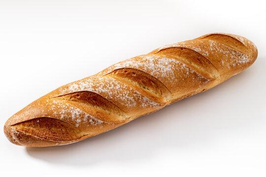 fresh delicious baguette for Breakfast
