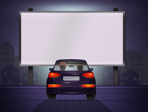illustration of Drive-in