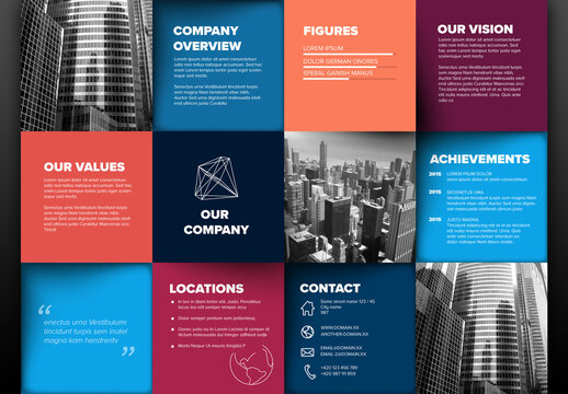 Company Profile Layout