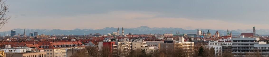 München Panorama - München auf einem Blick