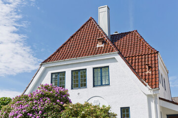 Traditional houses and architecture in Gamle, which is a historic area of the city of Stavanger in Rogaland, Norway