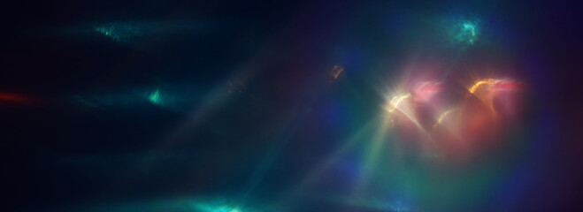abstract image of lens flare. light leaks