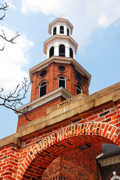 The historic Christ Church in Alexandria, Virginia