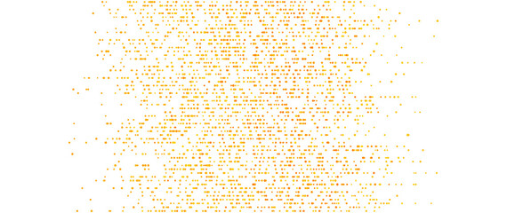 Fotobehang - Abstract geometric shiny background with orange dots. Vector design