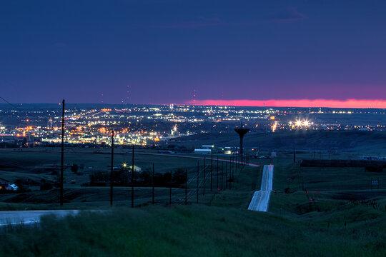 Williston Sunset