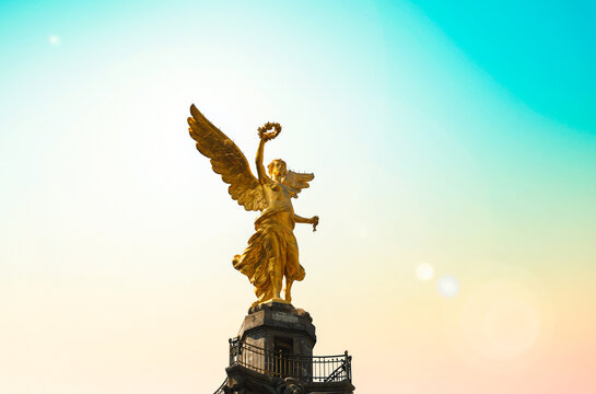Angel of Independence in Mexico City (Distrito Federal)