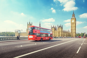 Westminster Bridge in London, UK