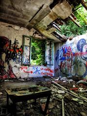 Foto op Aluminium Imagination urbex old