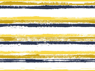Hand painted stripes clothes seamless vector pattern.