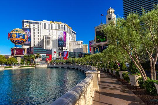 Paris and Planet Hollywood  Las Vegas