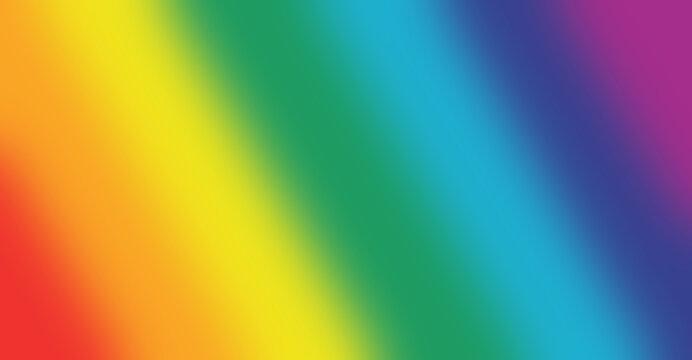 Colorful rainbow gradient blurred background. Gradient rainbow gay concept. LGBTQ transgender symbol and rainbow gradien tbackground