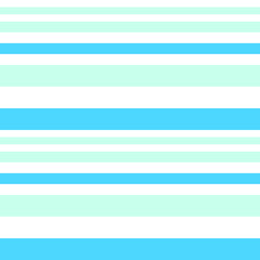 Sky blue Stripe seamless pattern background in horizontal style - Sky blue horizontal striped seamless pattern background suitable for fashion textiles, graphics