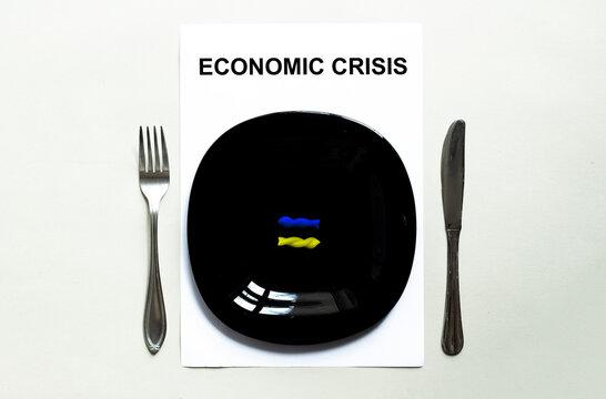Black plate pasta, countries of the world, economic crisis UKRAINE
