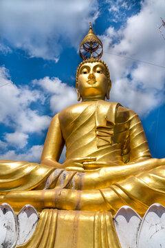 Big Buddha at Wat Tham Seua Tiger Cave Temple