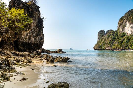 Hong Island off the coast of Krabi