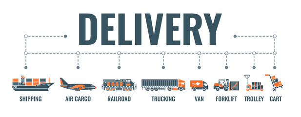 Delivery and Logistics Banner