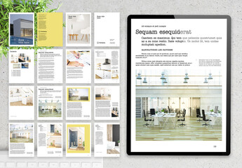 Digital Brochure Architecture Reference Layout