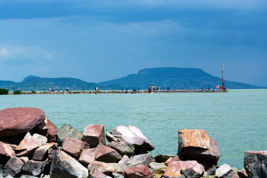 Landscape at Lake Balaton , Hungary