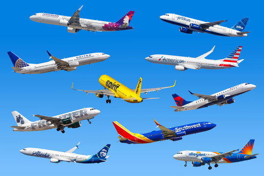 Airplanes airplane Airlines from the United States