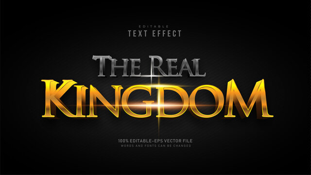 The Real Kingdom Text Effect
