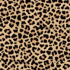 Fotobehang Luipaard leopard skin texture