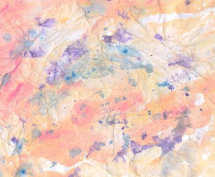 tie-dye paper background
