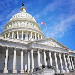 US National Capitol in Washington DC