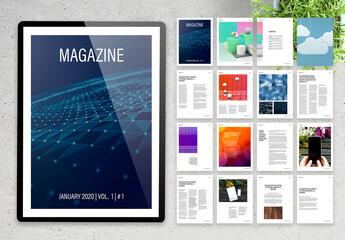 Modern Multipurpose Digital Magazine Layout