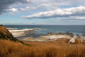 South Isalnd coastline. Kaikoura, New Zealand