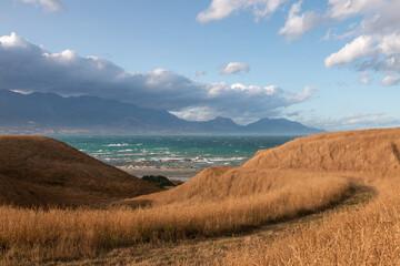Pathway in Kaikoura, New Zealand