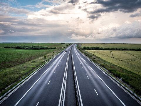 Beautiful 4 lane Highway